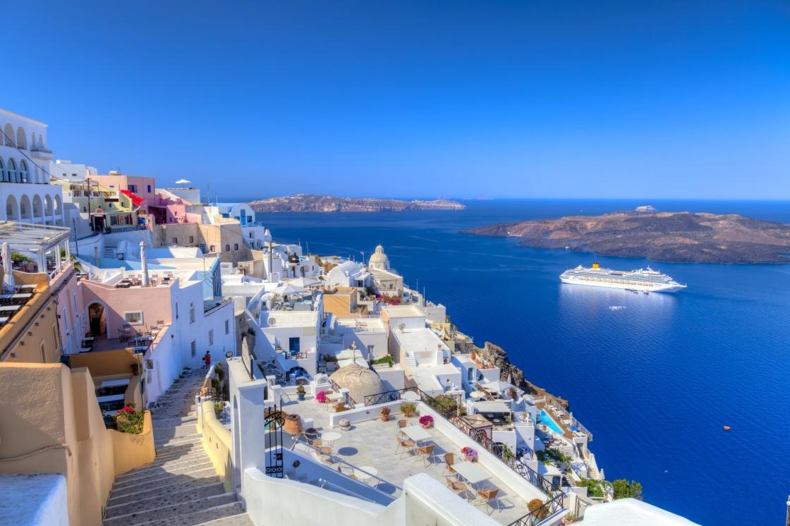 Informationen über Santorini